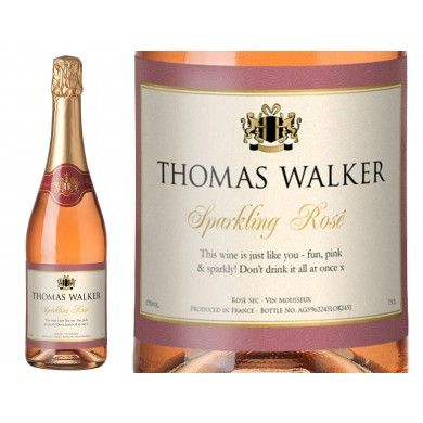 Any Occasion Personalised Sparkling Rosé Wine