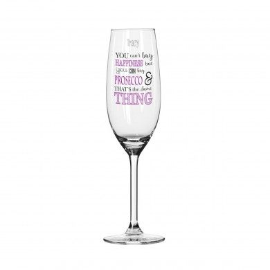 Can't Buy Happiness… Prosecco Glass