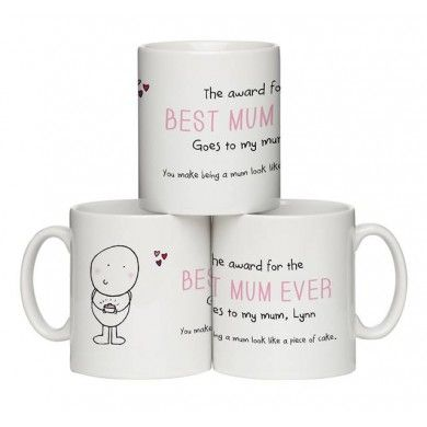 "Chilli and Bubble's ""Best Mum"" Mug"