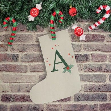 Holly Initial Stocking