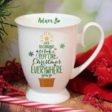 It's Beginning To Look A Lot Like Christmas Marquee Mug