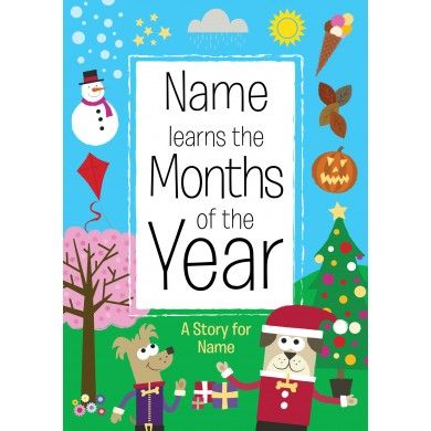 Learn the Months of the Year Book