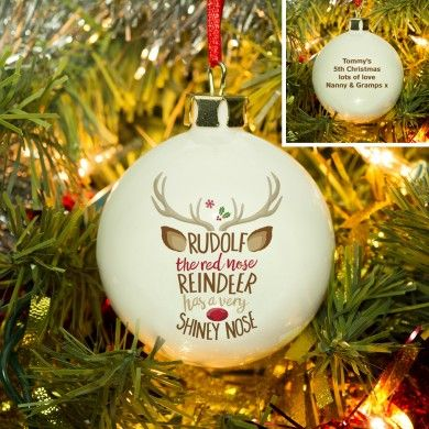 Rudolph the Red-Nosed Reindeer Bauble