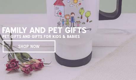 Family and Pet Gifts - Pet Gifts and Gifts for Kids & Babies
